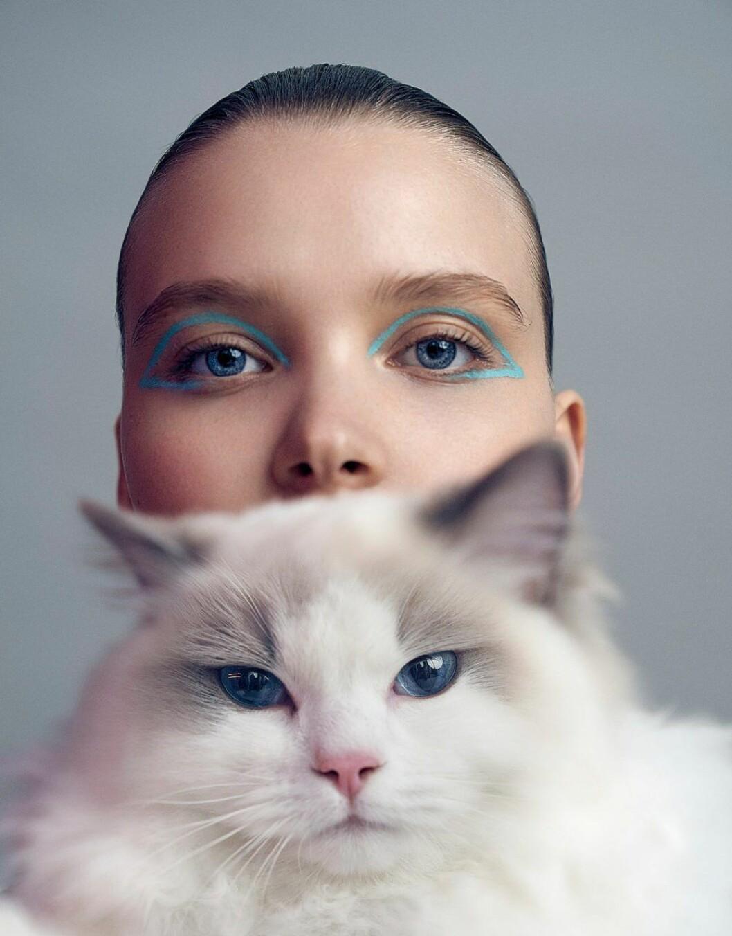 Grafisk sminkning är en beautytrend våren 2020