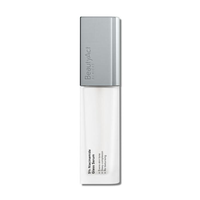 beautyact by kicks niacinamide bästa serum bäst i test recension omdöme betyg