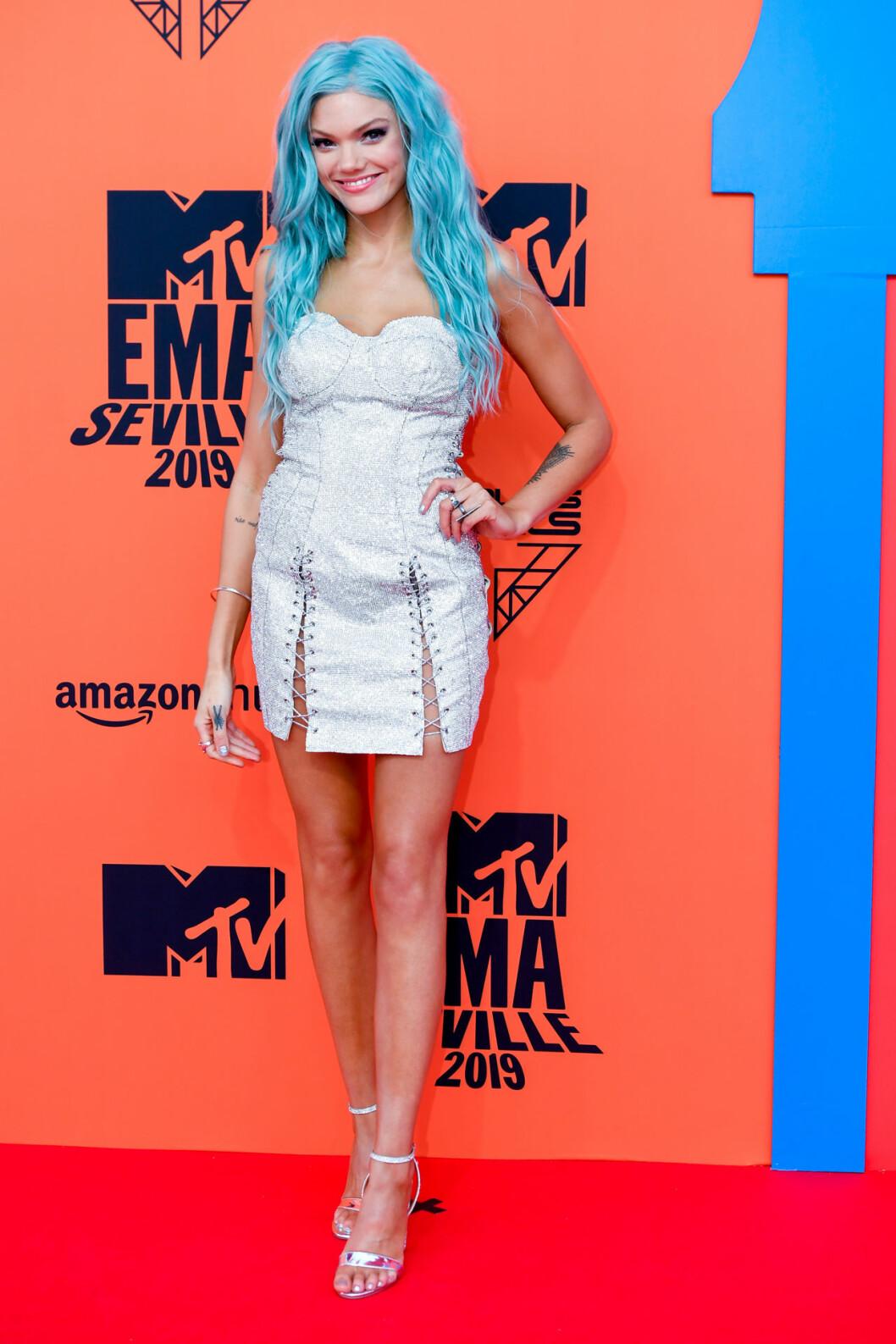 Becca Dudley på MTV EMA 2019 – se alla bilder här!
