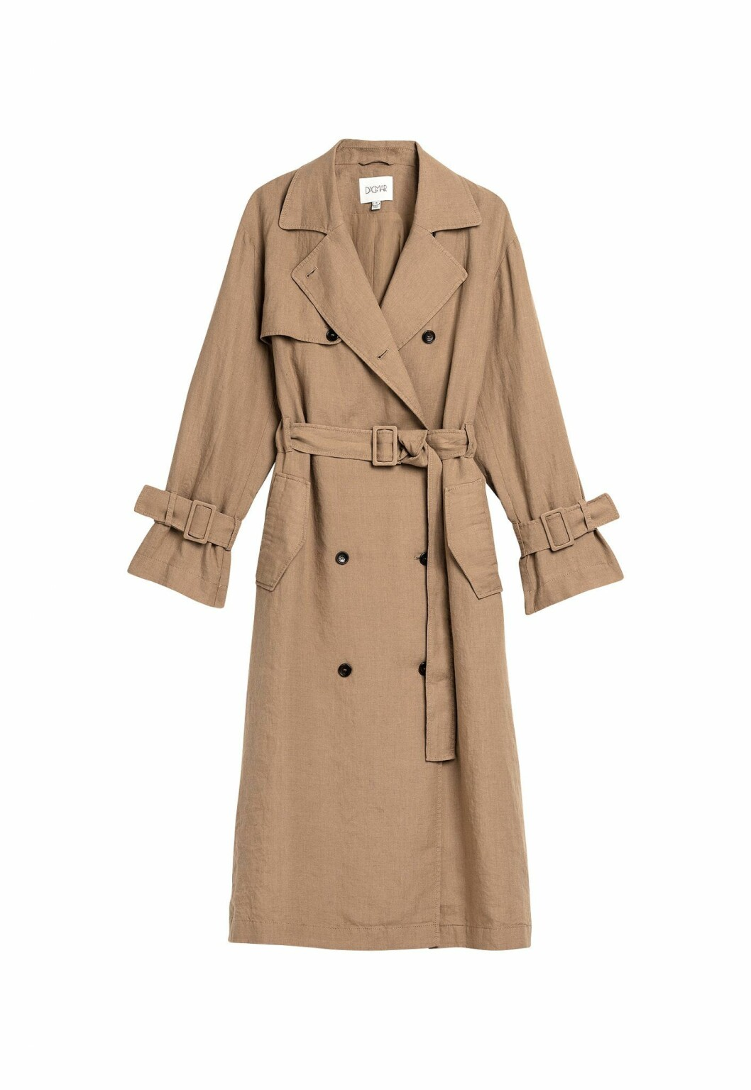 House of Dagmar Becky Coat i 100% lin