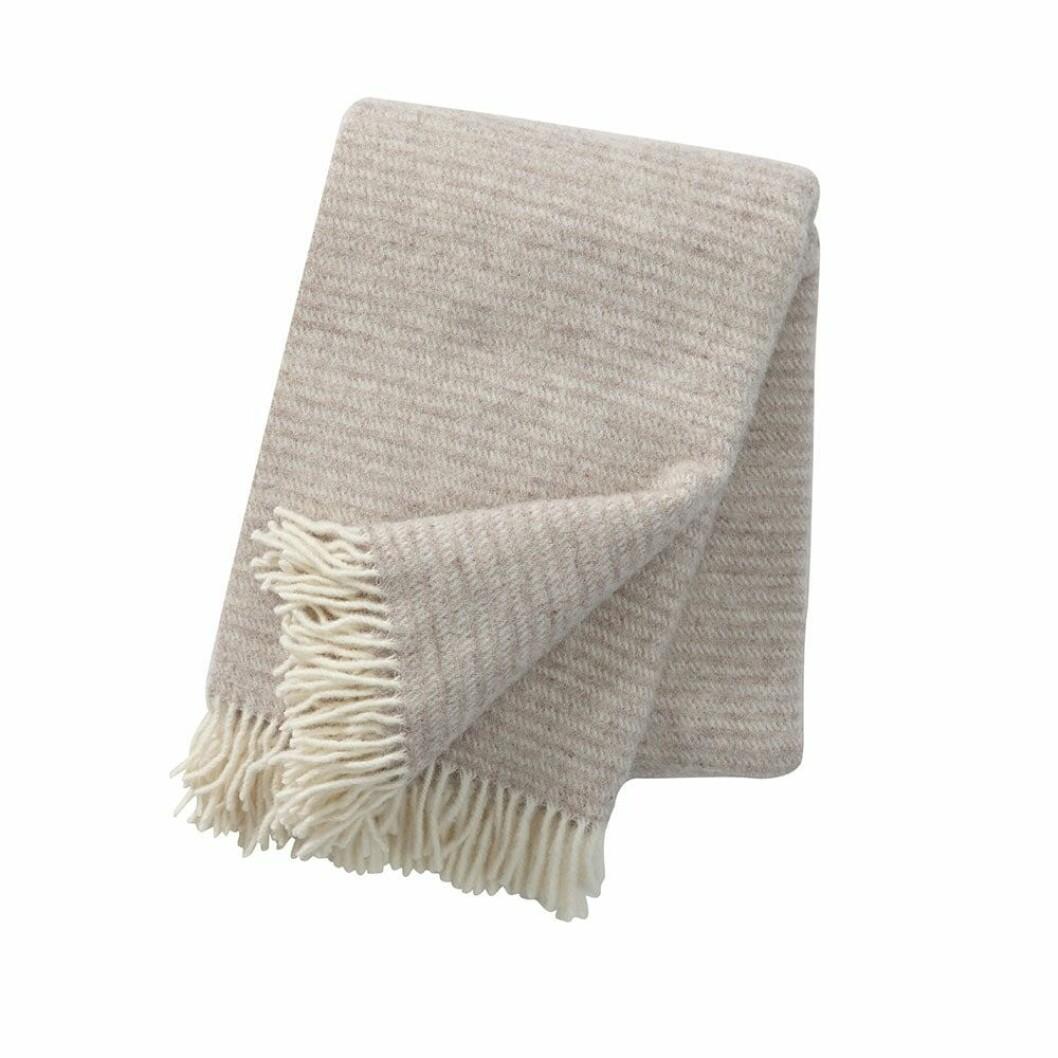 Beige filt från Klippan