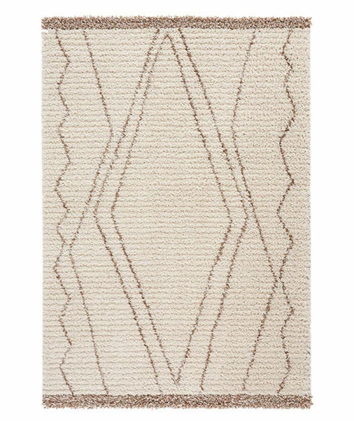 beige mönstrad matta