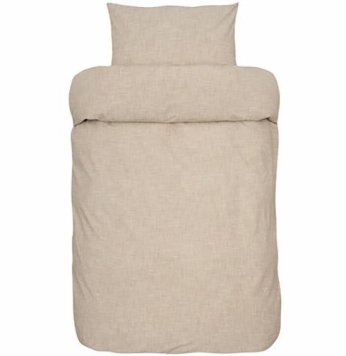beige sängkläder