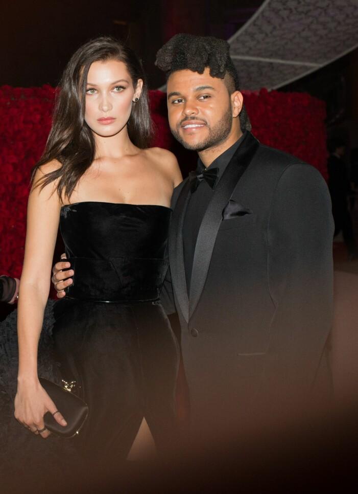 Bella Hadid och exet The Weeknd