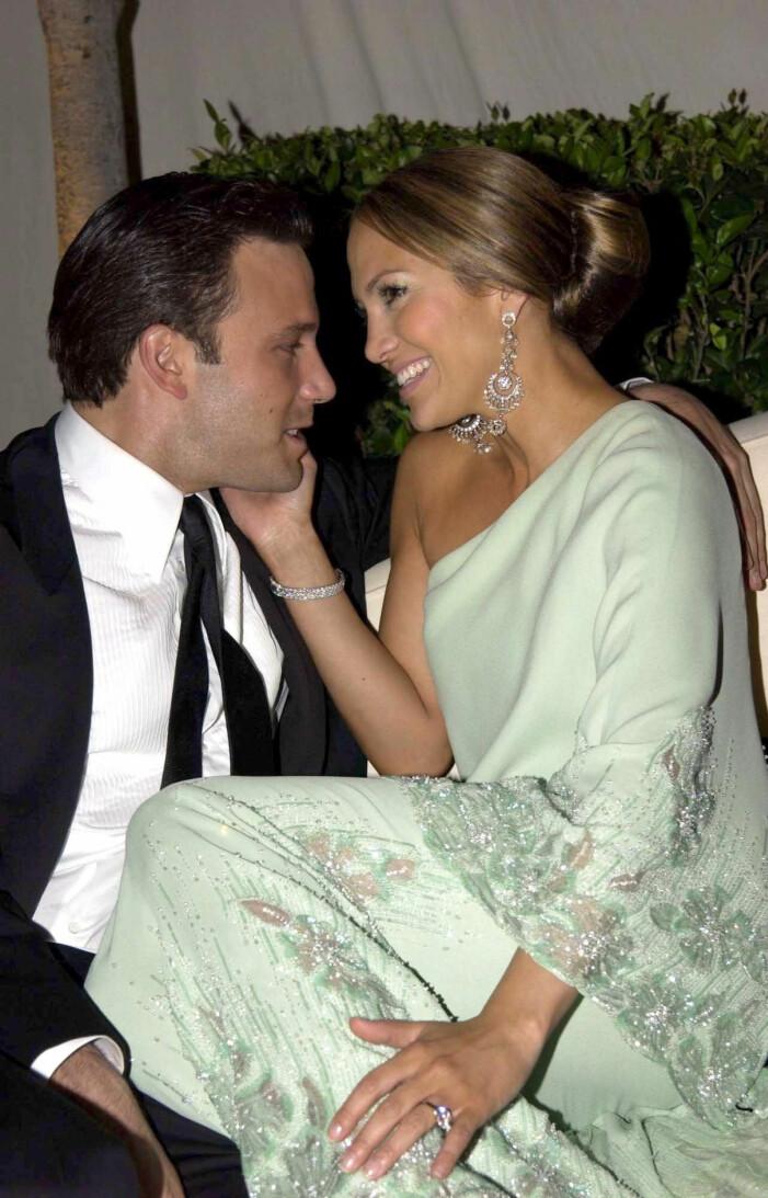 J.Lo och Ben Affleck 2003
