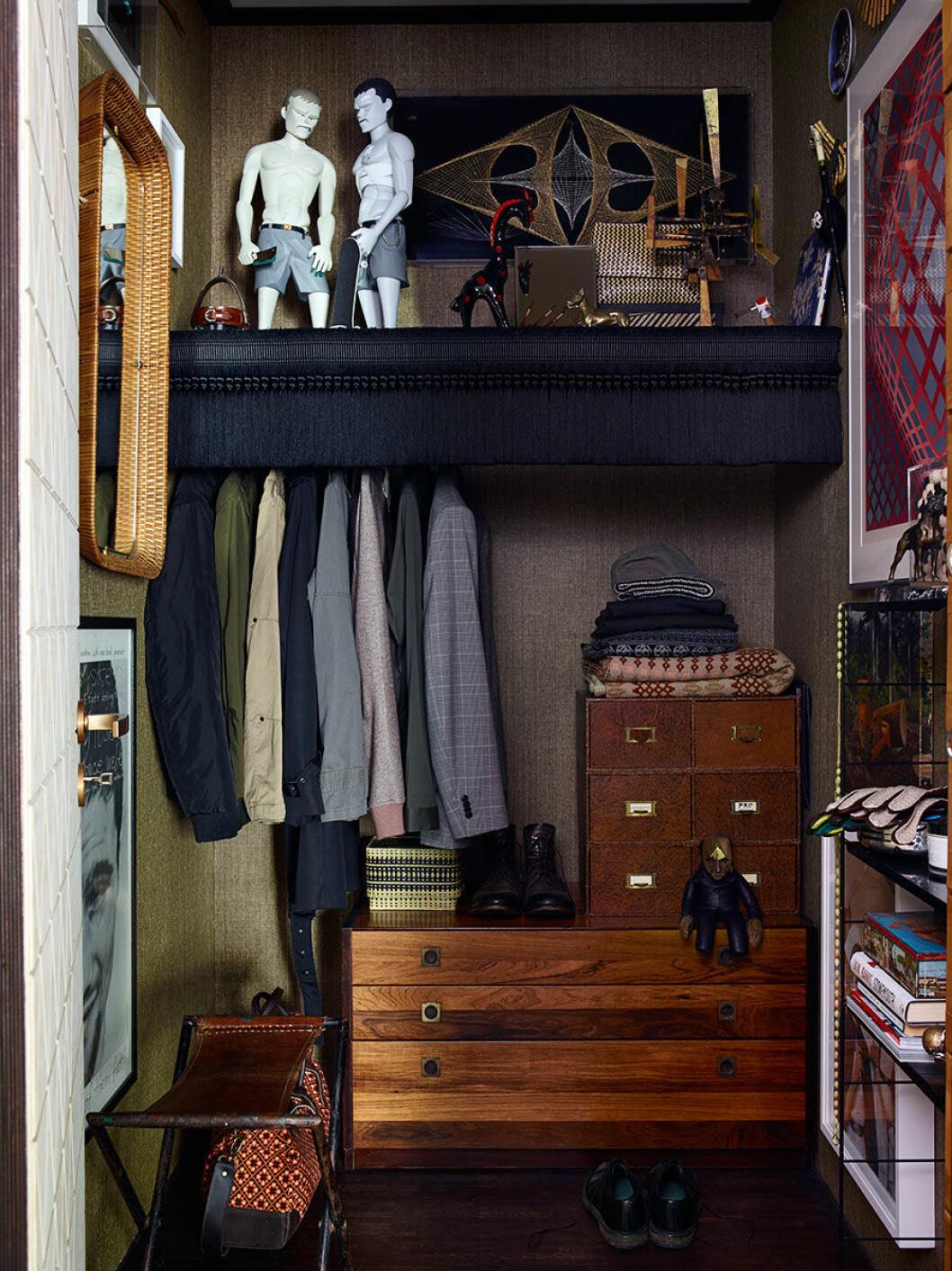 Anpassa garderob efter behov.