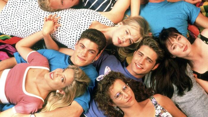 hela gänget i 90210