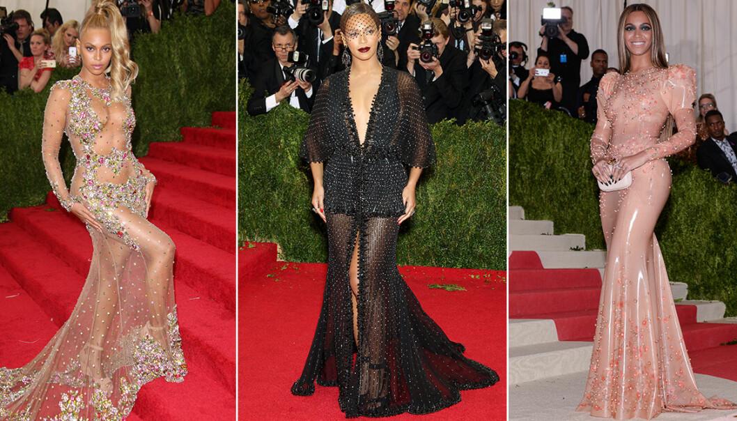 Tre exempel på looks signerade Beyoncé