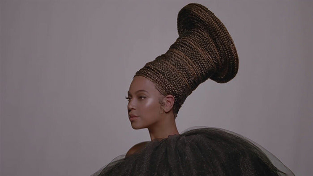 En bild på sångerskan Beyoncé.