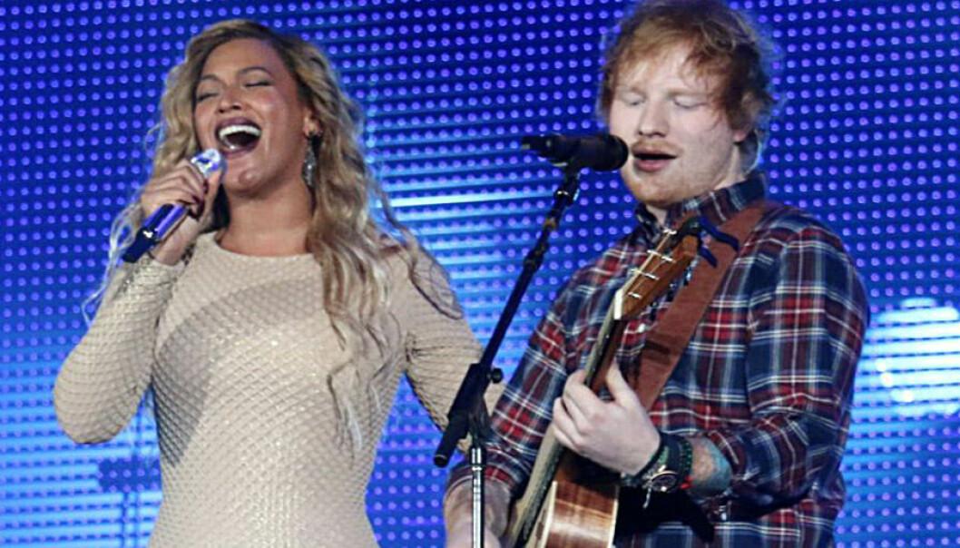 Beyonce Knowles och Ed Sheeran gör en ny version av låten Perfect.
