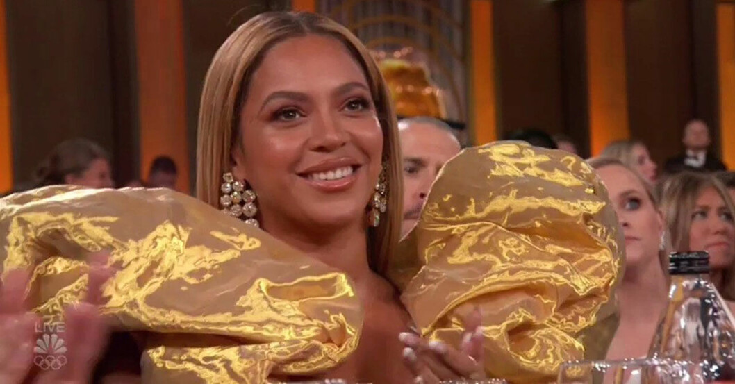 Beyoncé smög in på årets Golden Globe-gala 2020