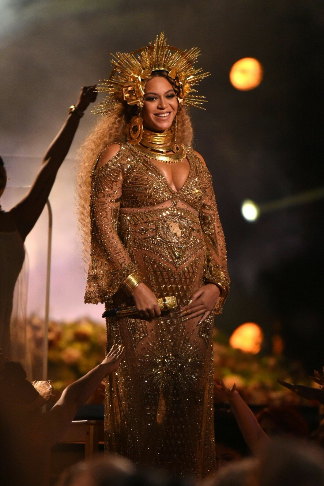 Beyonce i guldstass på Grammys 2017