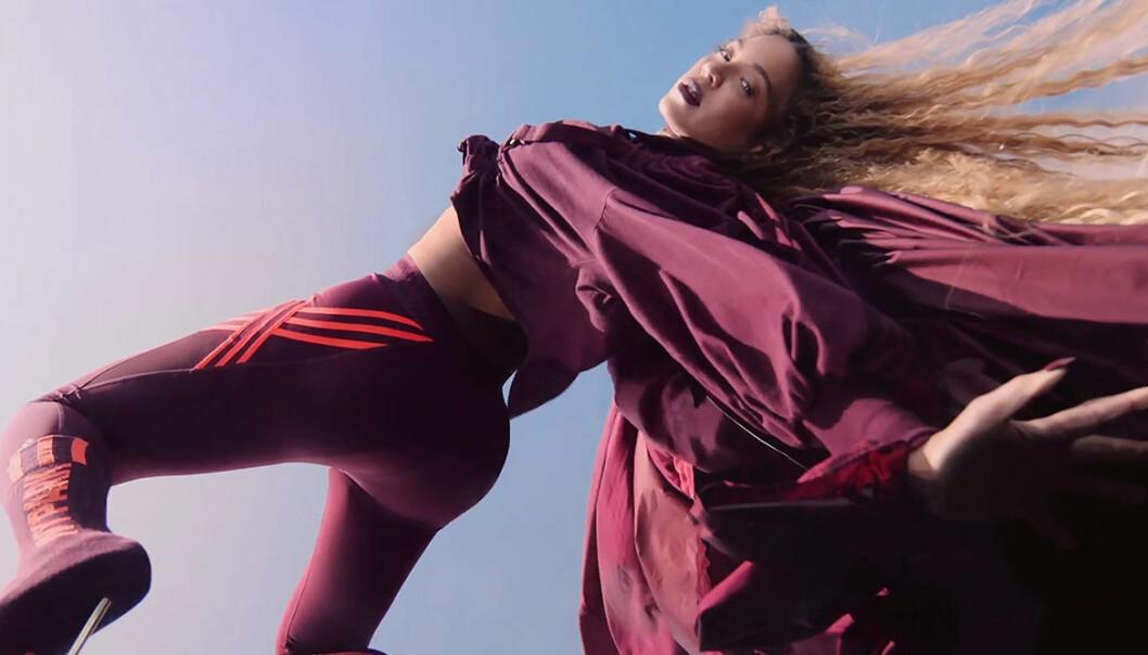 Beyoncé bär kollektionen Ivy Park x adidas