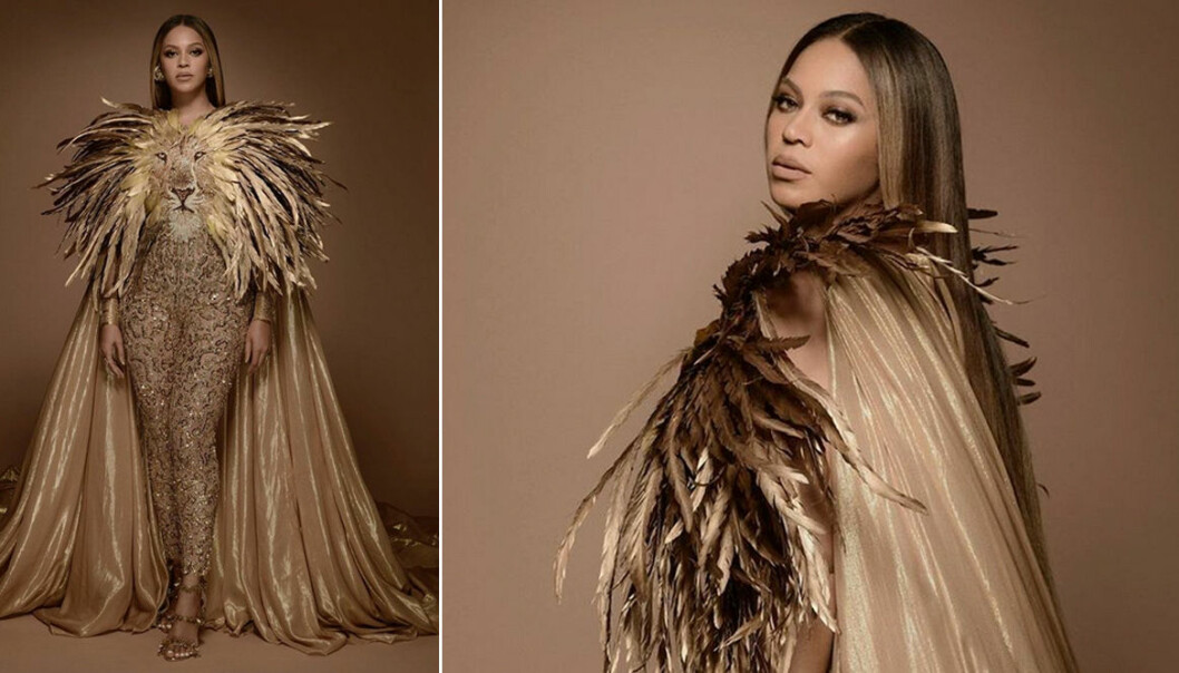 Beyonce i Lion King-outfit