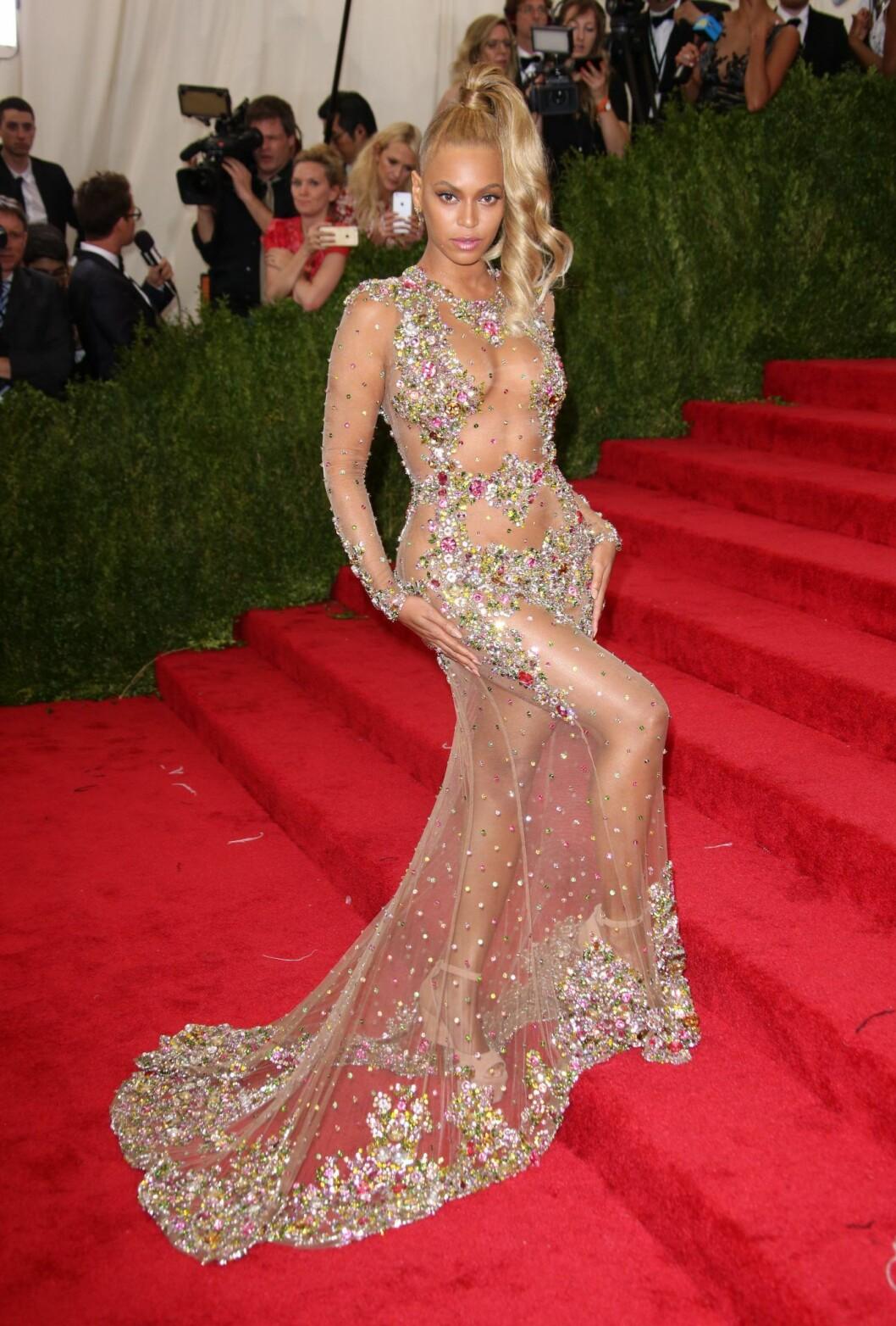 Beyonce på Met-galan 2015