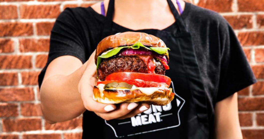 Veganska Beyond Burger lanseras i Sverige!