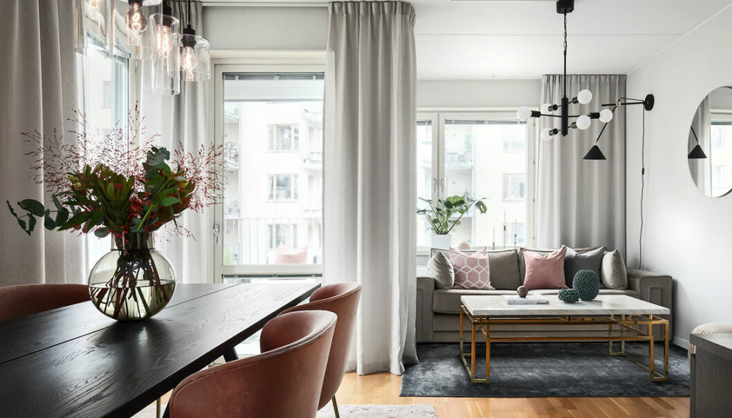 Bianca Ingrossos lägenhet ligger ute på Hemnet