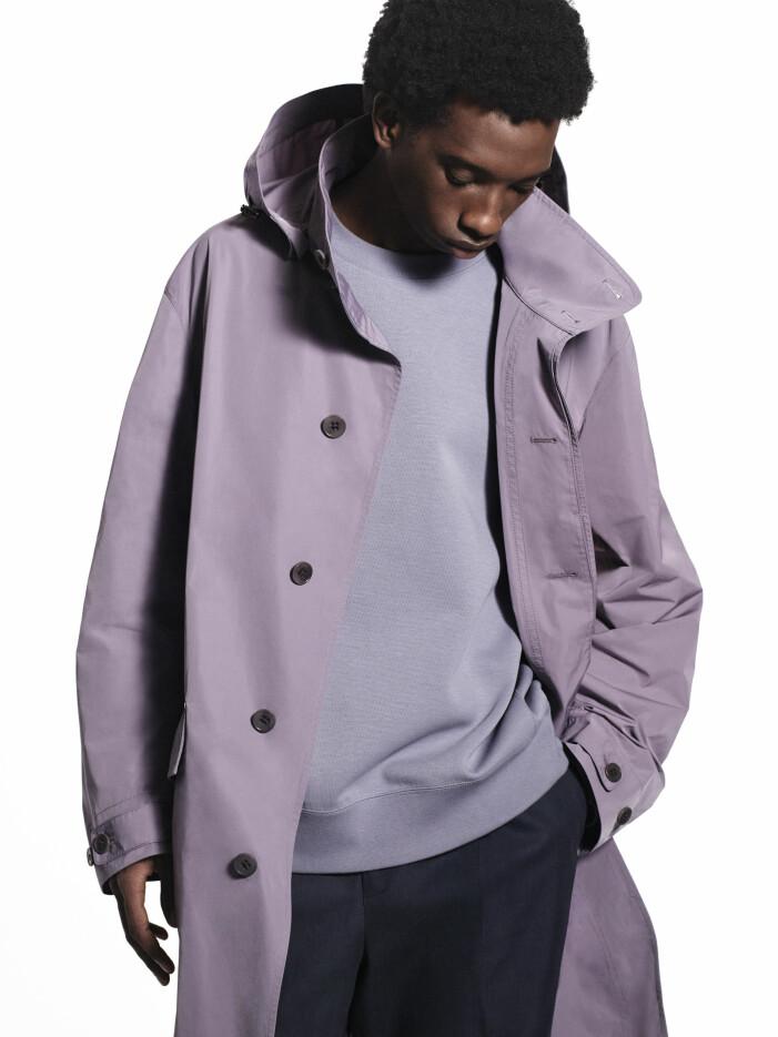 oversized kappa med luva från Jil Sanders kollektion