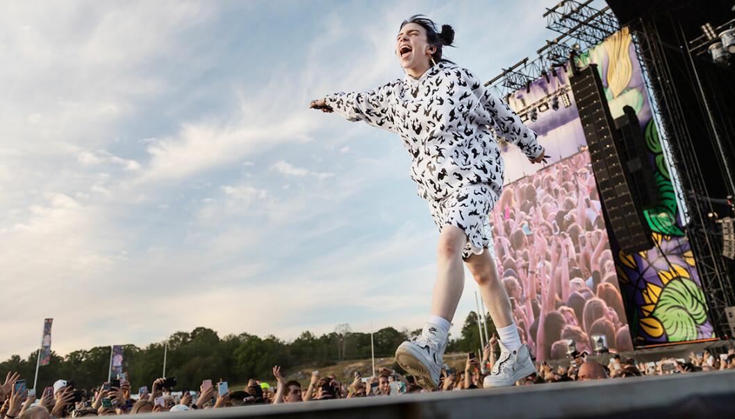 Billie Eilish på Lollapalooza 2019