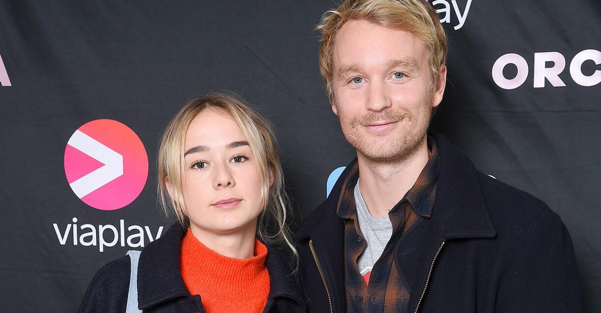 Björn Gustafsson och Alba August är inte längre ett par.