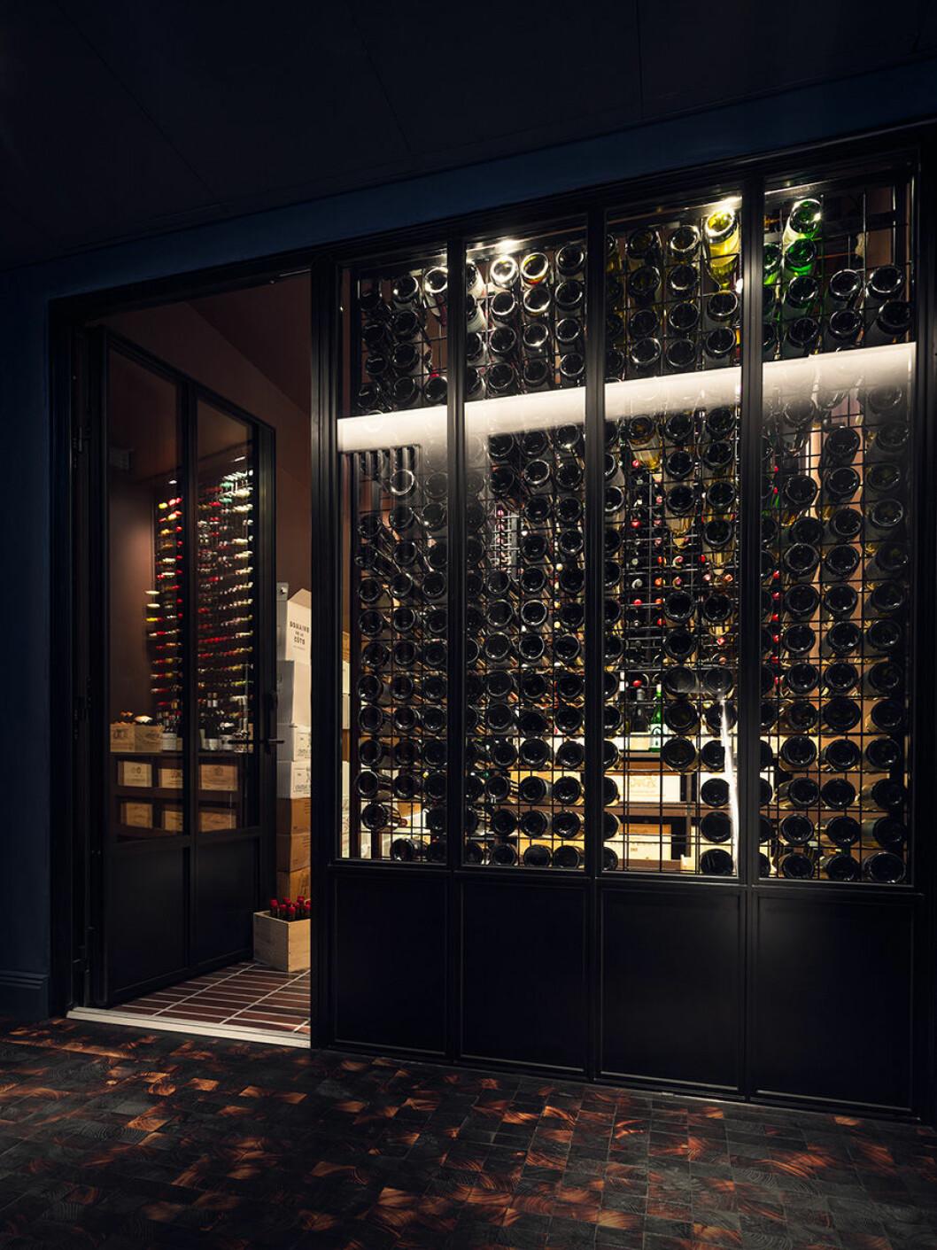 Det finns många fina viner att välja på.