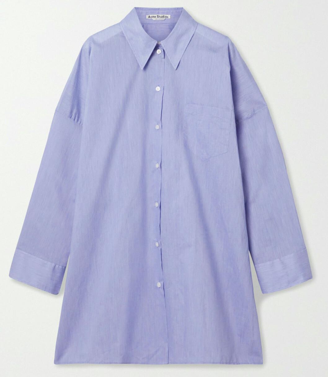 Randig boyfriend skjorta i oversized modell från Acne Studios