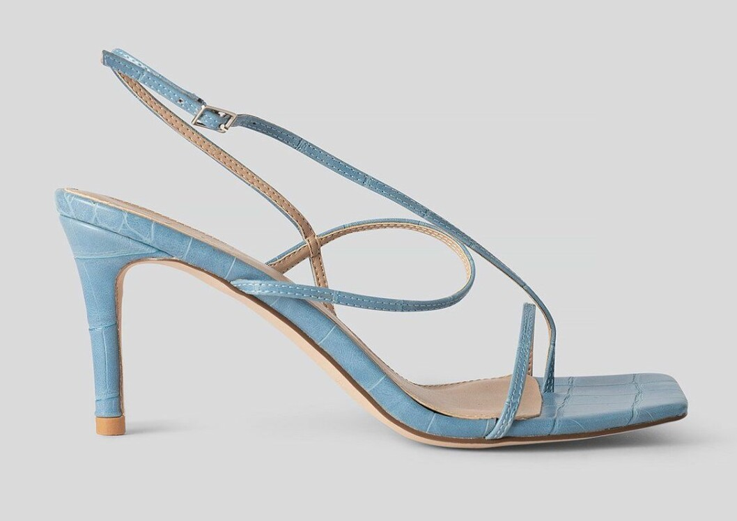 ljusblå sandaletter från nakd.