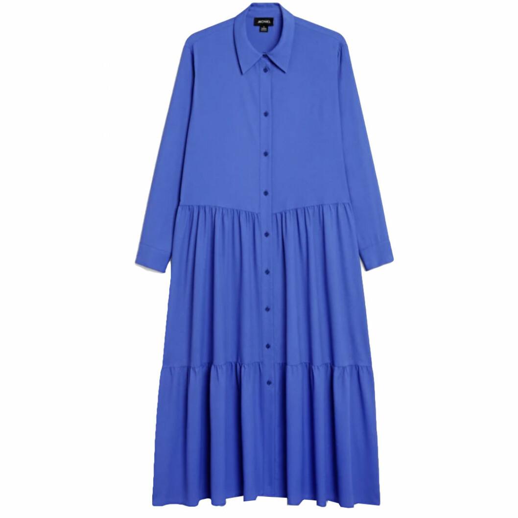 Blå skjortklänning från Monki