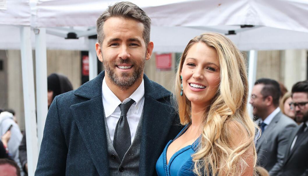 Blake Lively och Ryan Reynolds på röda mattan