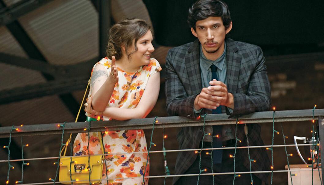 Hannah och Adam i Girls