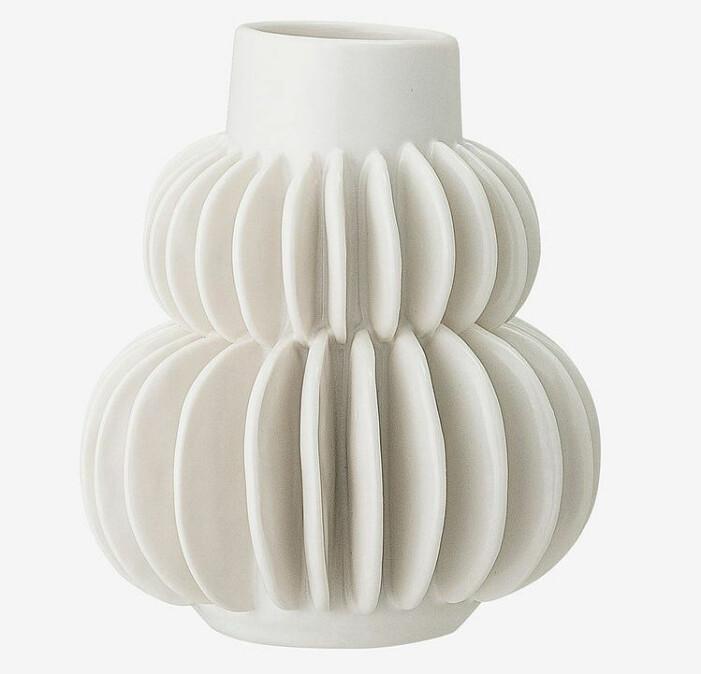 vit vas för buketter