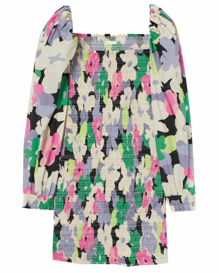 blommig klänning 2021