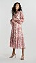 Blommig klänning med rosa bl0mmor från Gina tricot.