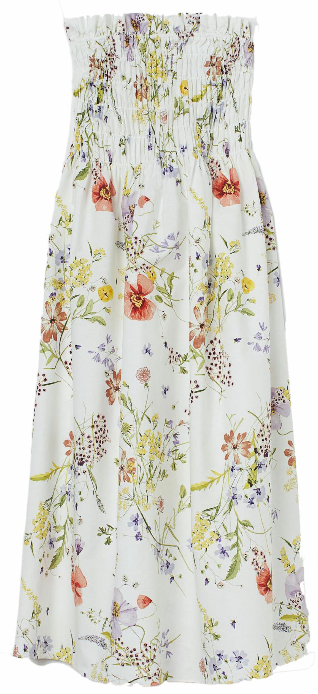 blommig klänning från H&M.