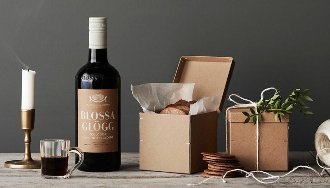 Blossa uppdaterar sina förpackningar och lanserar alkoholfri ekologisk glögg.