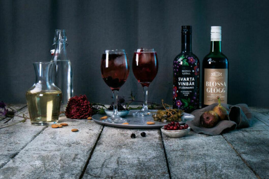 Blossa Spritz är en vintrig variant på sommarens favoritdrink, med glögg som bas.