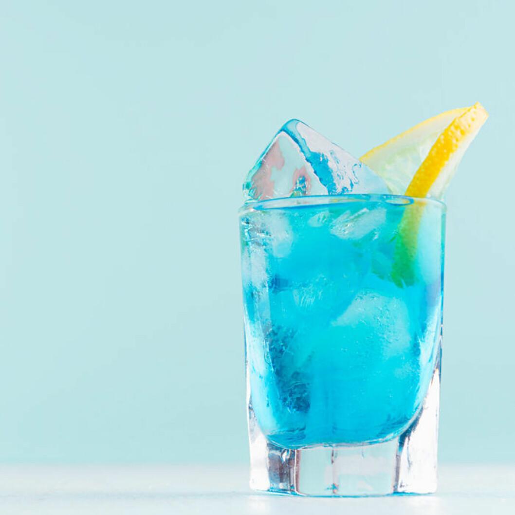 Blå curacau