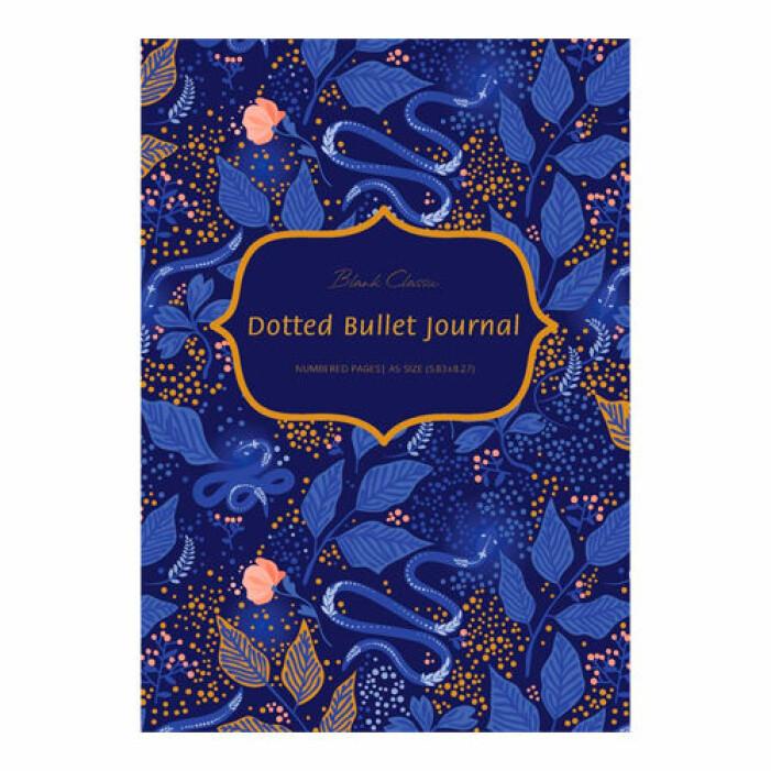 Punktmönstrad Bullet journal från Blank Classic