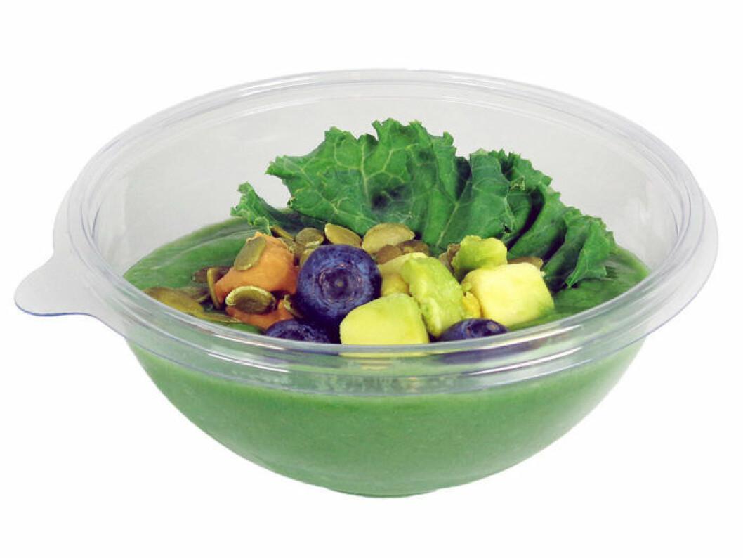 Bingo Rimér lanserar en smoothie bowl för Blueberry.