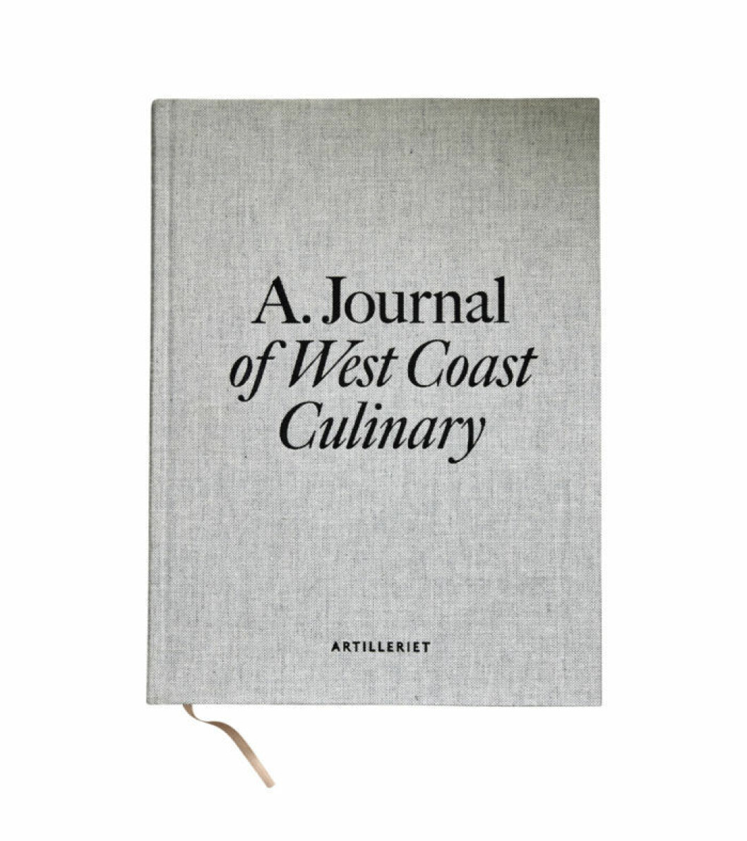 Omslag på boken A Journal of West Coast Culinary