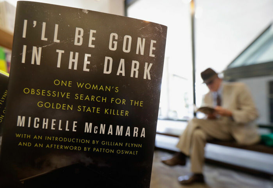 En bild på boken I'll Be Gone in the Dark av Michelle McNamara.