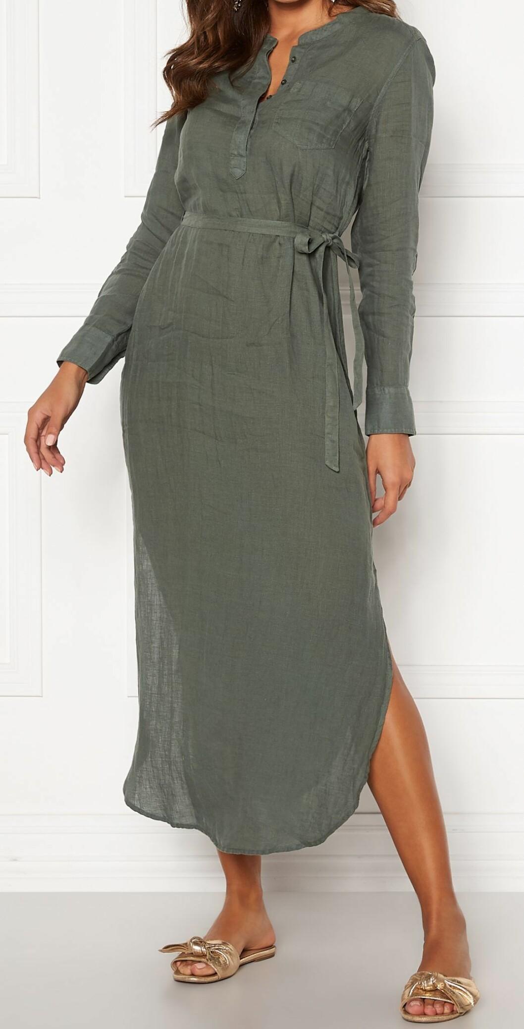 linne klänning från Boomerang.