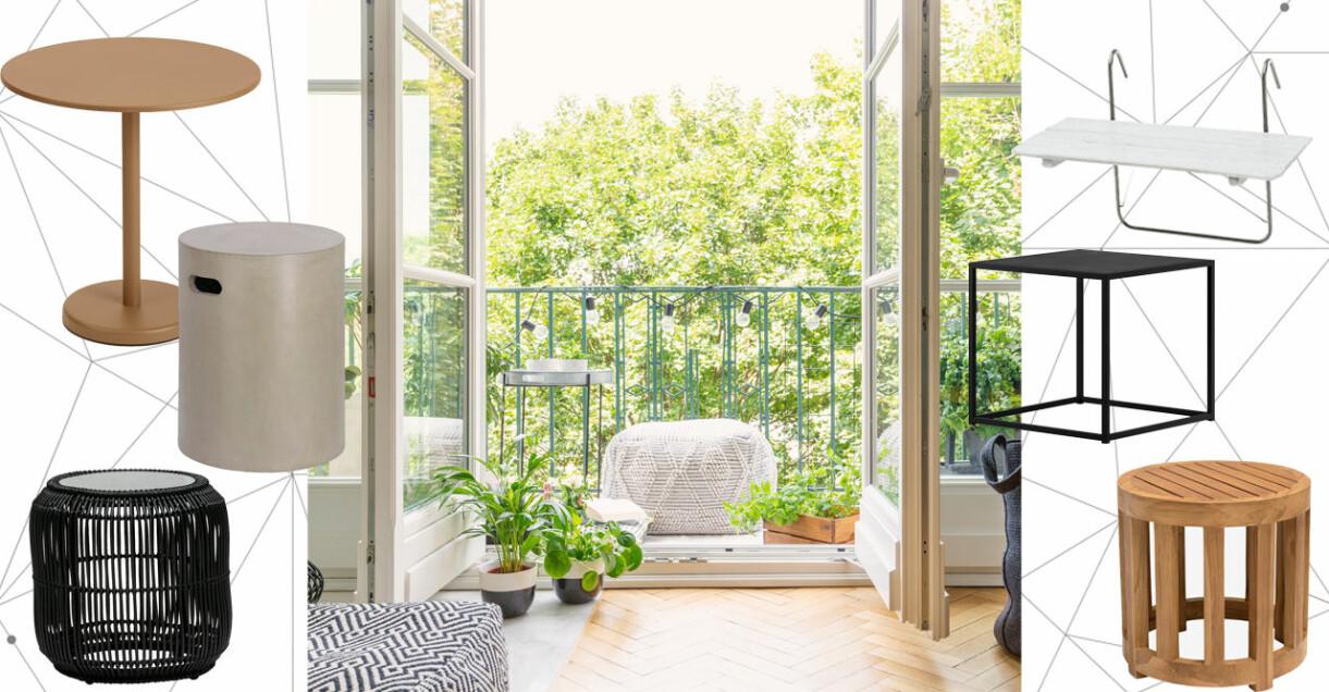 små balkongbord 2021