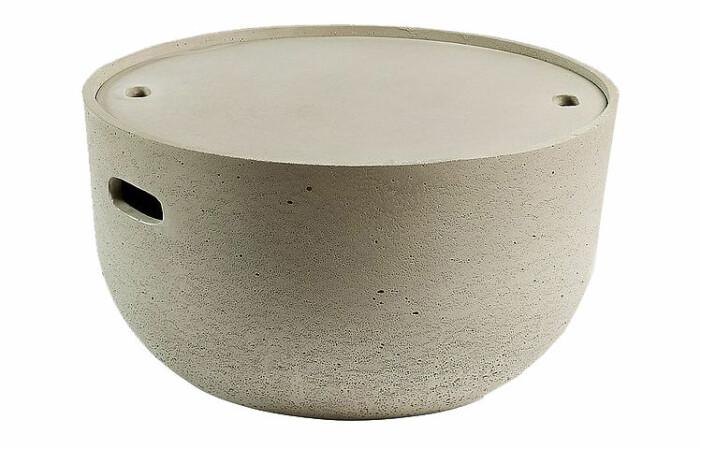 bord cement till uteplats med förvaring