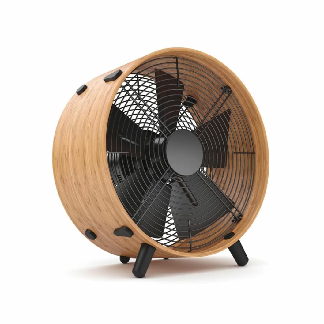 Bordsfläkt i bambu
