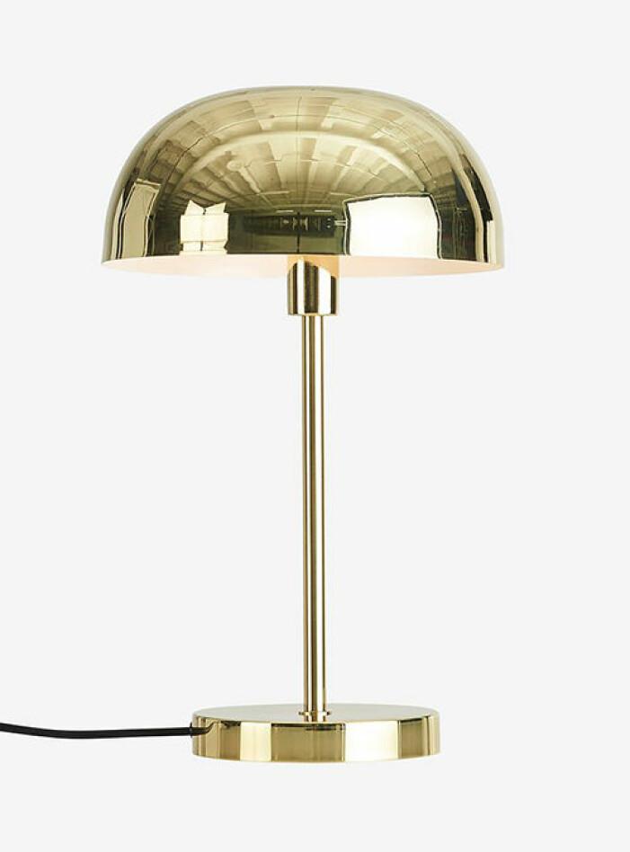 Bordslampa i mässing, Ellos Home