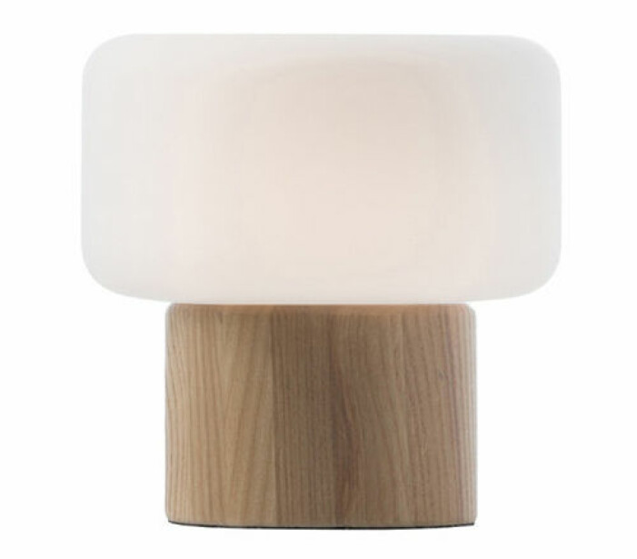 bordslampa trä