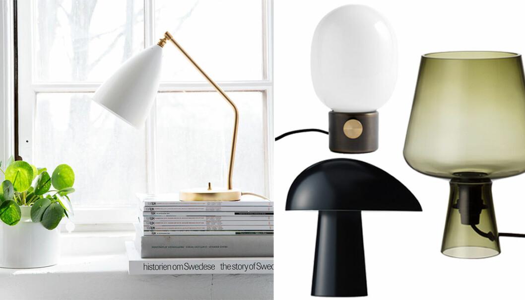 bordslampor shoppingtips