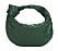 Mindre väska från Bottega Veneta i mörkgrönt