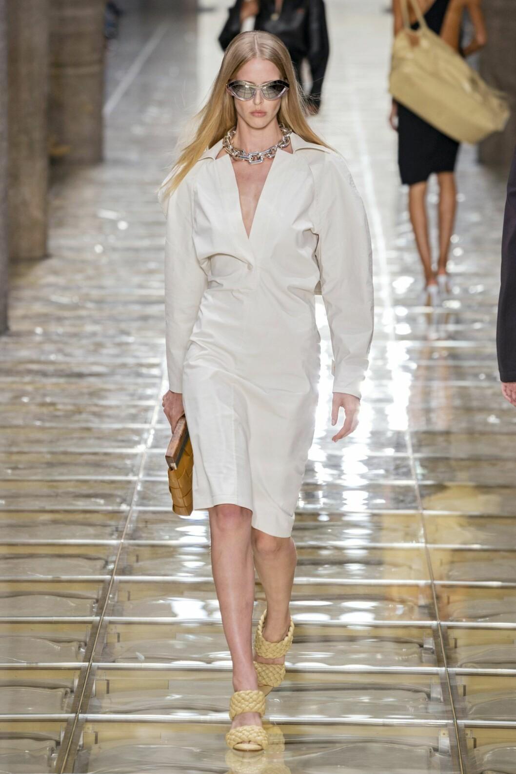 Skjortklänning från Bottega Veneta